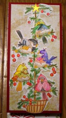2007 クリスマスカード 1