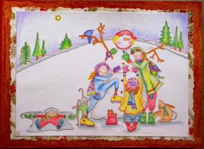 2007 クリスマスカード 2