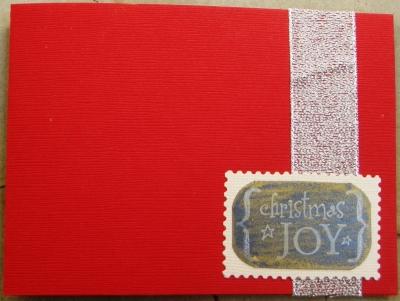 2007 クリスマスカード 2 表紙
